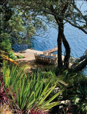 Sitting lakeside case study of a beautiful lakeside for Study landscape design