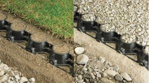 SurePave can be used for both lawn and gravel.