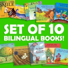 Bilingual book set of 10