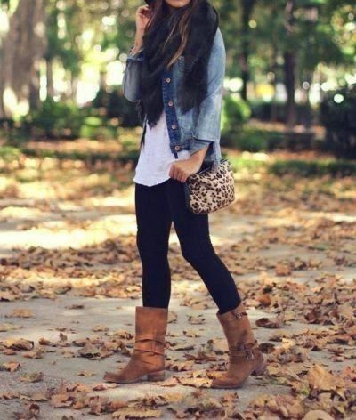 Un look súper casual...