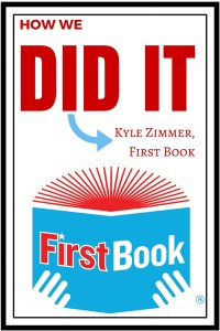 Interview with Kyle Zimmer, First Book