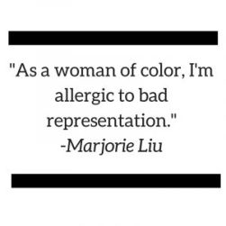 As a woman of color ComicCon II