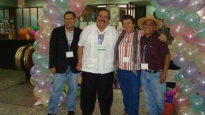 René Colato Laínez, Francisco X Alarcón, Margarita Robleda and Jorge Argueta