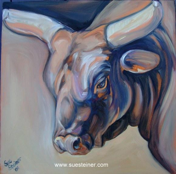 Farm Animal Art by Sue Steiner