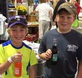 Kids love our glass bottle soda