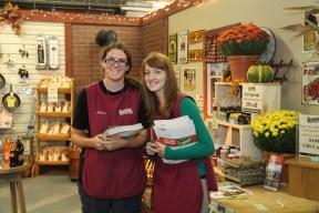 Autumn and Rachel were always ready to help!