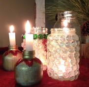 "6"" White Dripless Candles"