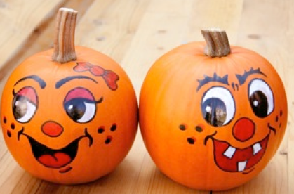 painted-pumpkins