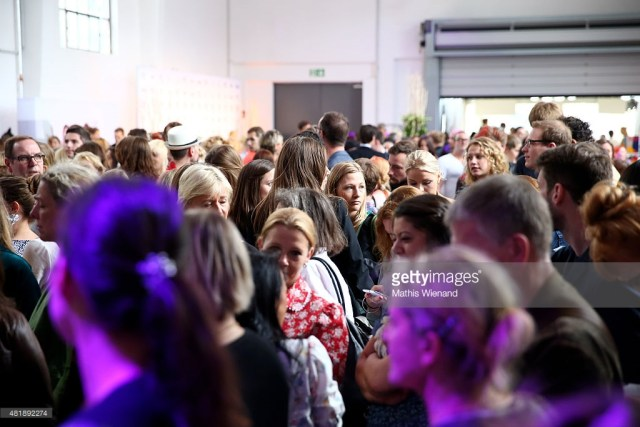 A general view of the Platform Fashion at Areal Boehler on July 25, 2015 in Duesseldorf, Germany.