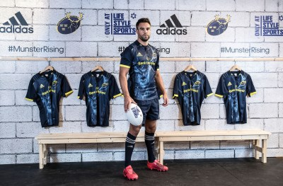 The new Munster Rugby alternate kit available exclusively ...