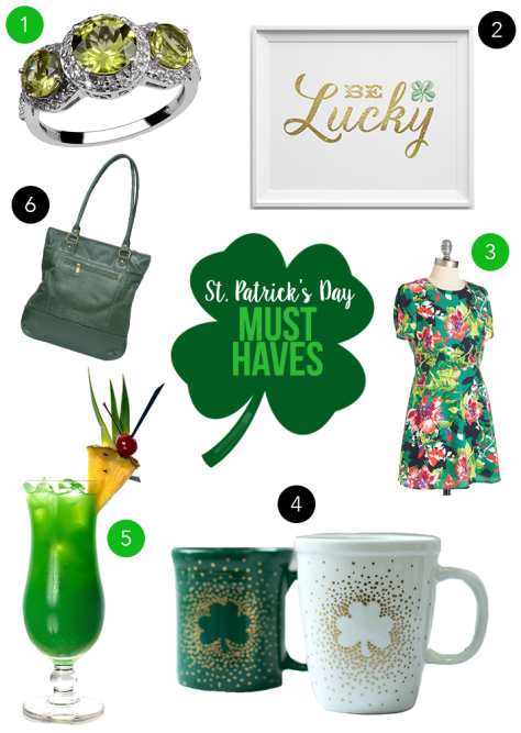 St. Patricks Day Must Have Collage