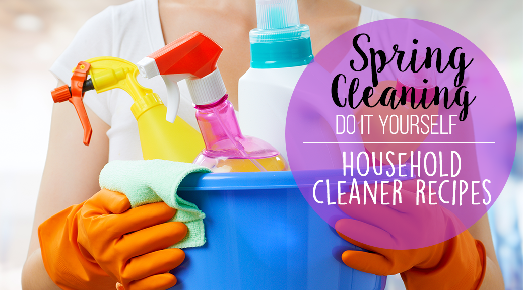 Spring Cleaning DIY Household Cleaners WP