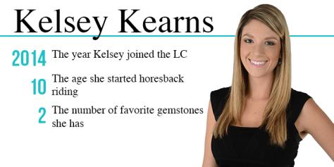 Kelsey Kearns by the numbers