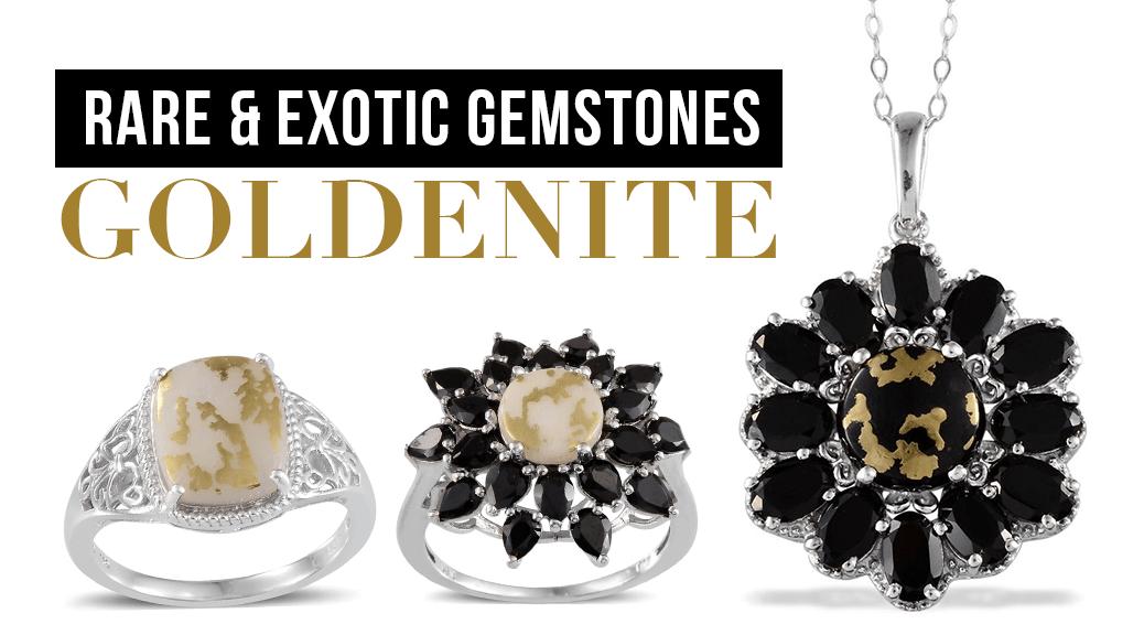 Rare and Exotic Gemstones - Goldenite