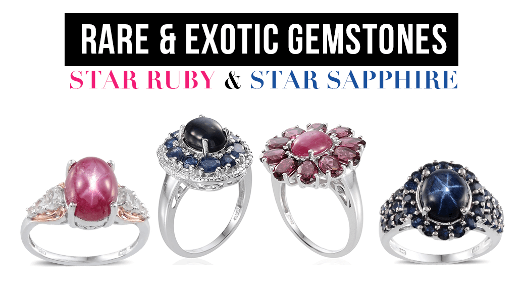 Rare and Exotic Gemstones - Star Ruby and Star Sapphire
