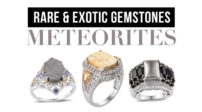 Rare and Exotic Gemstones: Meteorites