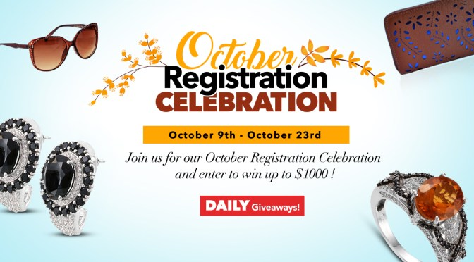 October Registration Celebration: Join to Win and Save