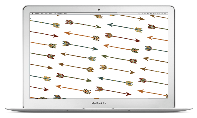 arrows-macbook-air