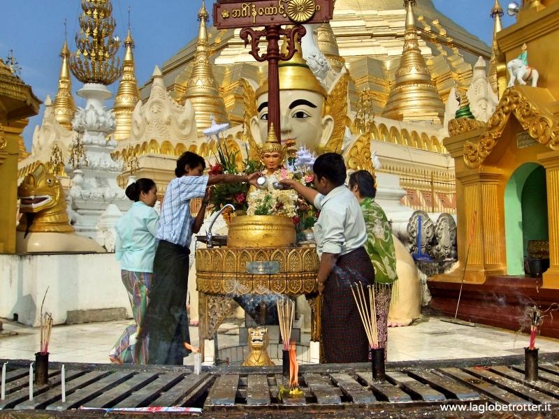 itinerario per visitare birmania