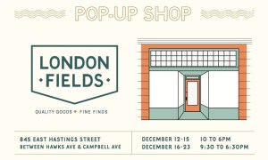 London Fields Shoppe Pop-Up