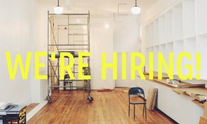 london fields shoppe :: we're hiring!