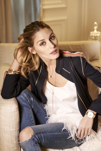 Olivia Palermo pose pour Piaget Possession
