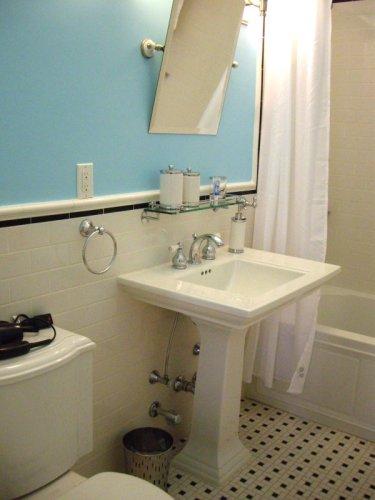 La chambre à New York - salle de bains