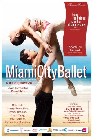 Le Miami City Ballet au Théâtre du Châtelet (Les Étés de la Danse)
