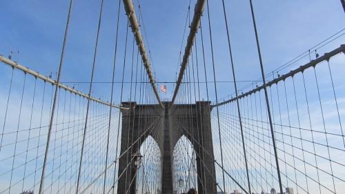 New York – Pont de Brooklyn (New York, toujours et encore ! (et une étude comparée francoamerloque))