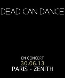 Dead Can Dance au Zénith