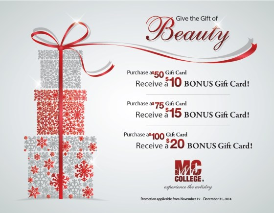 MC College Gift Card Promotion 2014