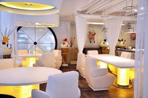 XOw en el Restaurante DiverXO, de David Muñoz, en el hotel Eurobuilding