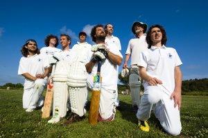 Cricket Club on Island Vis