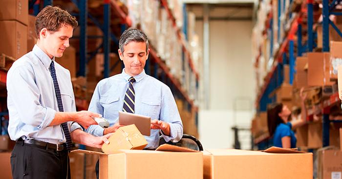Organziación e xestión de almacéns