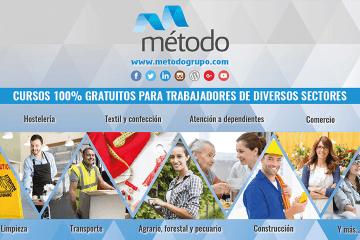 Cursos gratuitos para trabajadores Grupo Método
