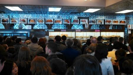 boston marathon mikes pastry inside