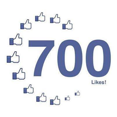 700 Facebook Likes