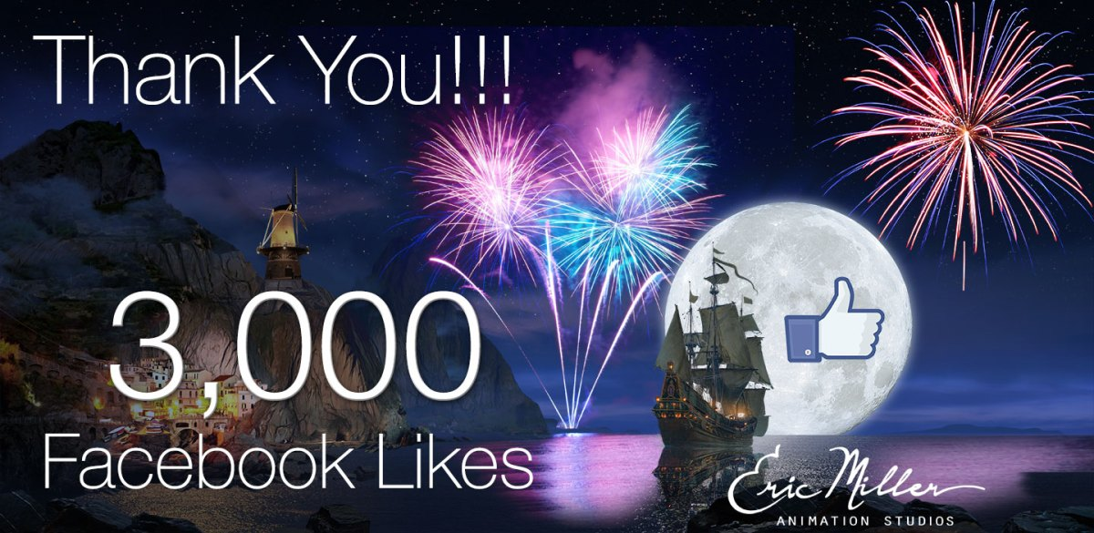 Thank you, 3,000 Times!