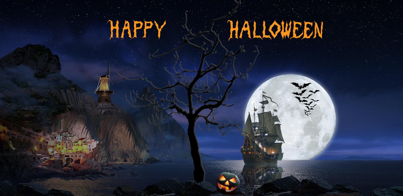EMA Halloween Banner