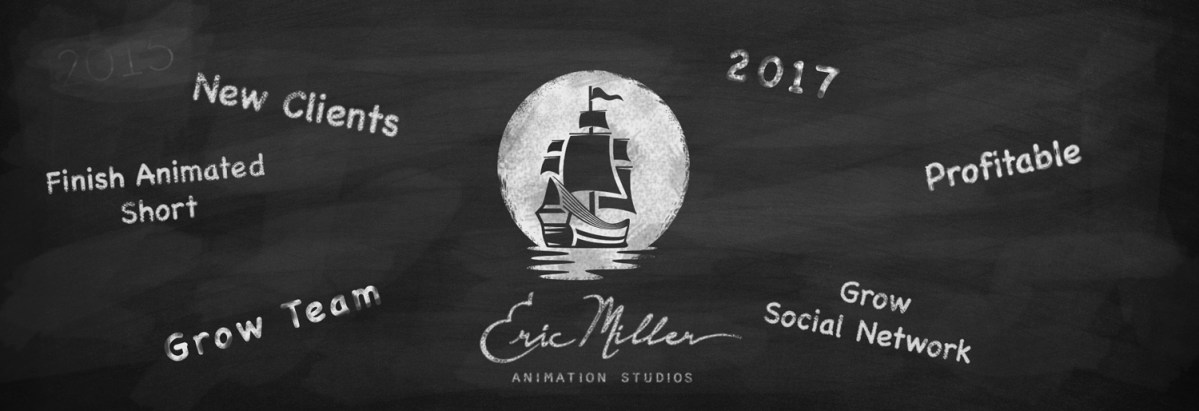 Eric Miller Animation's 2017 New Year's Resolutions