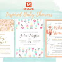 Mixbook-Inspired Baby Showers