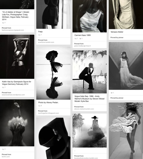 B W High Fashion Photography on Pinterest