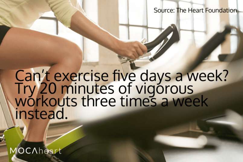 Heart Health Month Tip Exercise