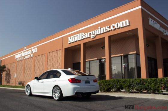 White BMW M-Sport F30 335i