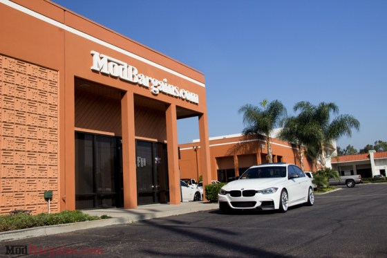 White BMW M-Sport F30 335i ModBargains
