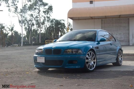 Laguna Seca Blue BMW E46 M3 Front Bumper