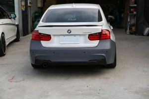 M-Sport Style Front Bumper for 2012+ BMW 3-Series [F30]