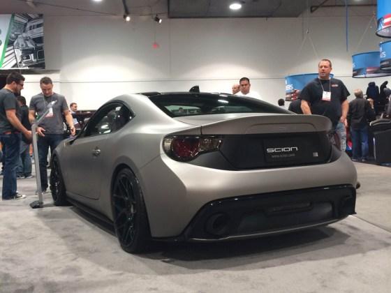 Scion FR-S Car Release Show