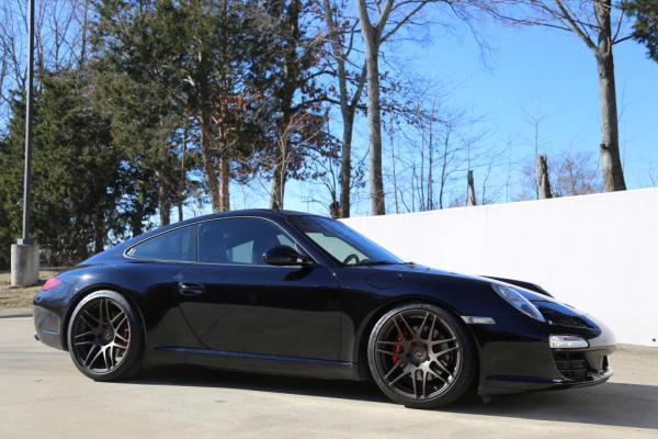 Of A Different Breed – Porsche 997.2 C2 on Black Forgestar F14 & H&R Springs