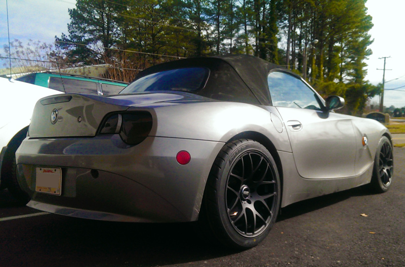 Quick Snap Two Silver E85 Bmw Z4s On 18 Vmr Vb3 Amp Vmr